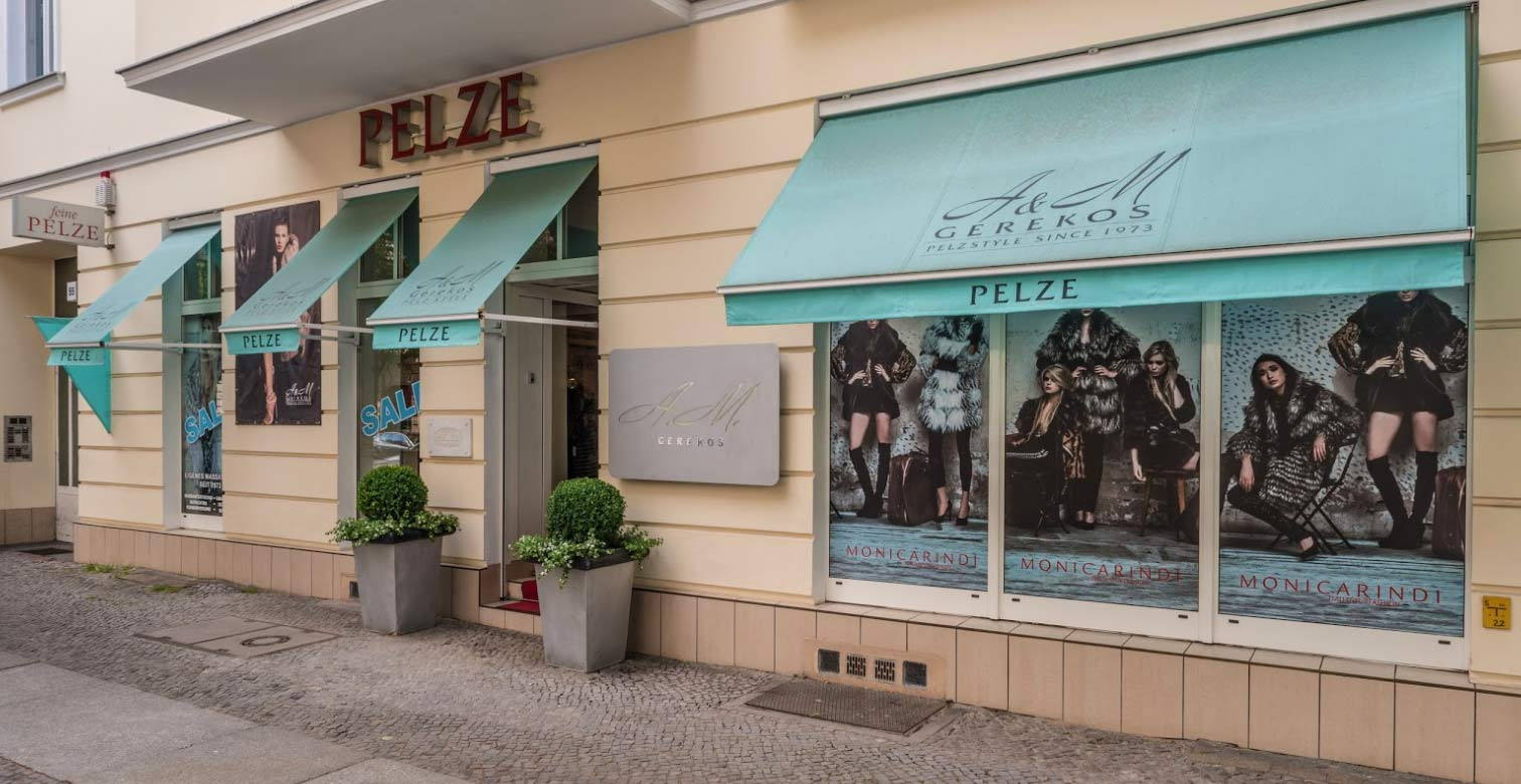 Unsere Boutique am Kurfürstendamm in Berlin Charlottenburg