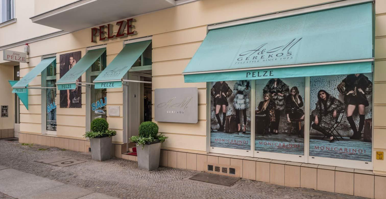 Unsere Boutique am Kurfürstendamm in Berlin Charlottenburg